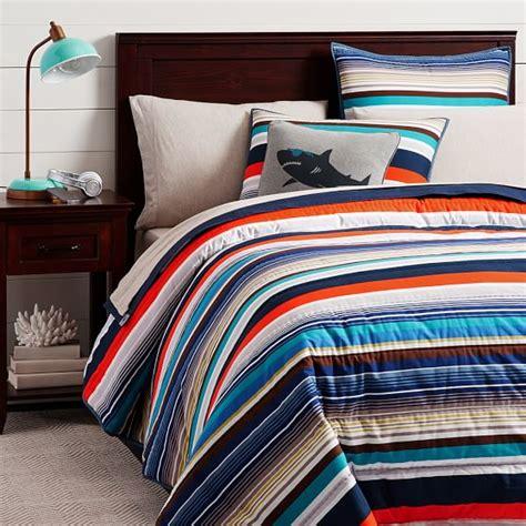 pbteen comforters bondi stripe comforter sham pbteen