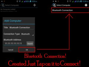 how to connect android to pc steps to connect android mobile phone to windows pc via bluetooth