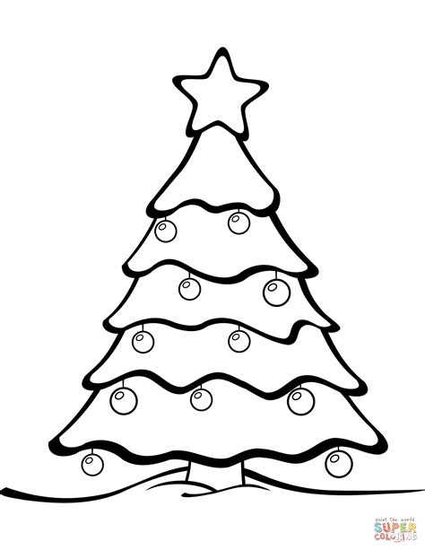 Coloring Pages On Christmas Tree Coloring Page Free Printable Coloring Pages by Coloring Pages On