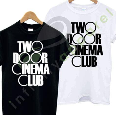 Hoodie Two Door Cinema Club Merah two door cinema club t shirt top northern rock band bangor many jpg
