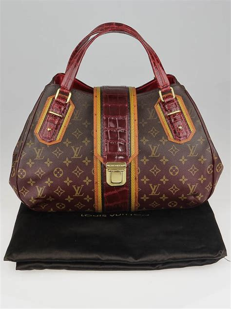Louis Vuitton Griet Or Dont Griet by Louis Vuitton Limited Edition Bordeaux Monogram Mirage