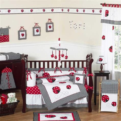 ladybug bedding ladybug nursery theme ideas thenurseries