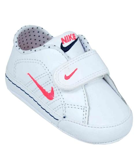 nike crib baby shoes white from landau store