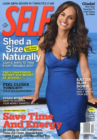 Giada De Laurentiis Diet Workout And A Recipe by Giada De Laurentiis Self Magazine December 2008