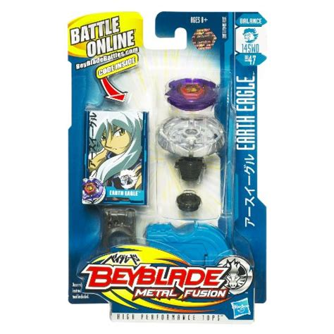 New Bakugan Eagle beyblade metal fusion battle tops earth eagle 145wd bb
