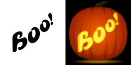 word pumpkin carving patterns