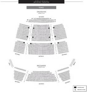 The bushnell center for the performing arts seating charts