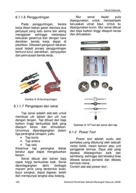 Cara Kerja Obeng Ketok bab 6 penggunaan peralatan dan perlengkapan perbaikan siap cetak
