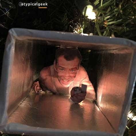 ideas die hard decorating your tree with this cool die hard ornament of
