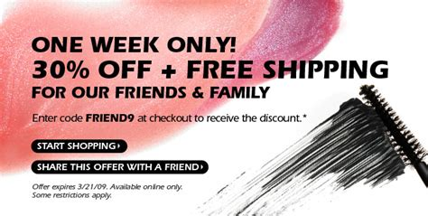 Friends And Family Discount At Prescriptives by Prescriptives Friends And Family Discount Fab 40