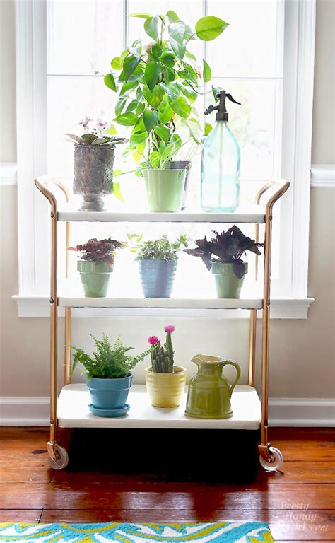 Indoor Window Sill Extender Upcycled Plant Cart Saved From Quot Above The Quot Pretty
