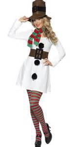 adult miss snowman costume 28016 fancy dress ball