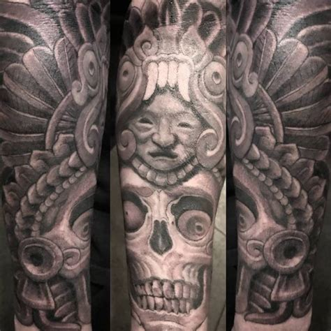 club tattoo sf 50 of the best aztec tattoos insider