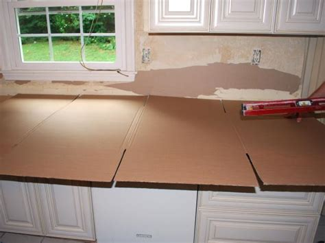 Template For Granite Countertops by How To Install A Granite Kitchen Countertop How Tos Diy