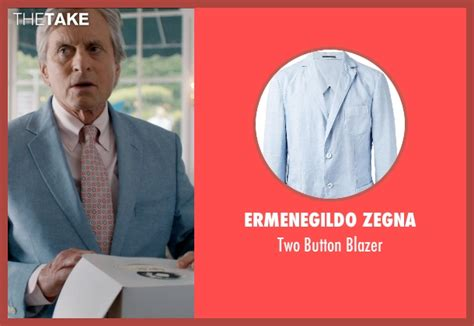 Blazer Oren michael douglas ermenegildo zegna two button blazer from
