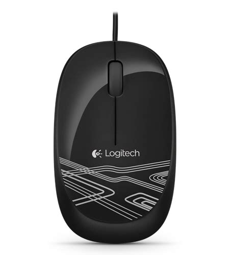 Mouse Logitech M105 m105 corded optical mouse logitech