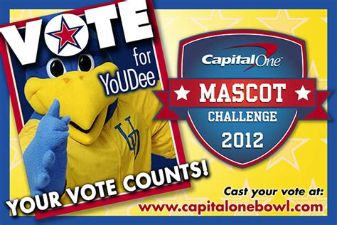 capital one bowl mascot challenge youdee faces lsu s mike the tiger in capital one bowl