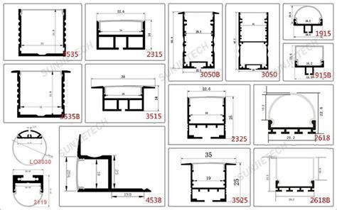 Harga Aluminium U Channel 7026 wall mount led u channel aluminium profile for led