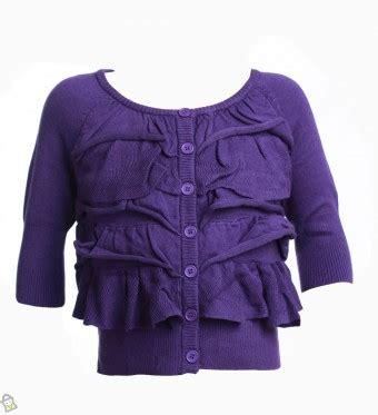 Baju Anak Merk Banana store co id baju anak bebe sosie sweater ungu m l