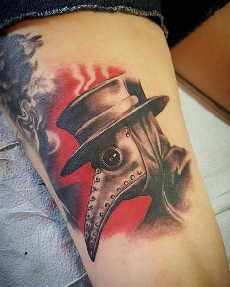 bloodline tattoo 45 best tattoos plague doctor images on