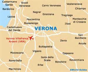 Verona Italy Map by Verona Travel Guide And Tourist Information Verona