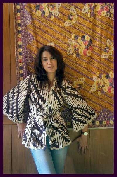 Rina Blouse Blouse Kebaya Kondangan 4 hfh www sieradenschilderijenatelierjose batik model
