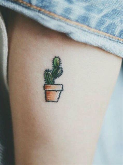 cactus tattoo meaning 65 and inspirational small tattoos their meanings