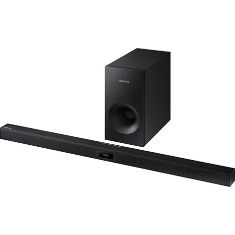 Tv Samsung Soundbar samsung hw j355 120w 2 1 channel soundbar speaker hw j355 za b h