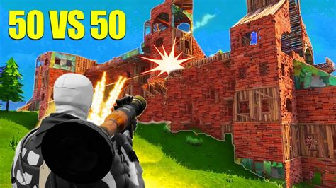 fortnite muselk the 50 v 50 fight new fortnite gamemode