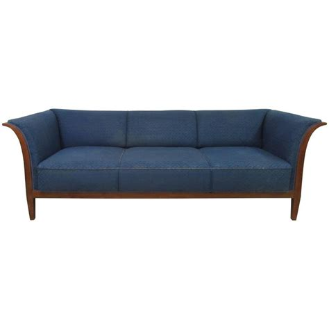 elegant sofas for sale elegant frits henningsen sofa in mahogany for sale at 1stdibs