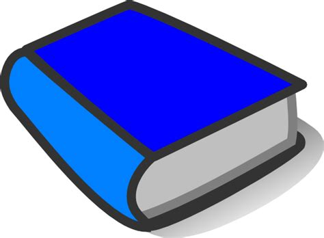blue books blue book reading clip at clker vector clip