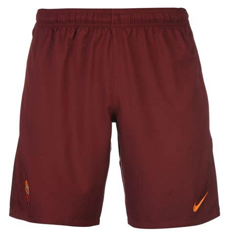 Shorts Go As Roma Home nike as roma home shorts 2016 2017 mens maroon football soccer ebay