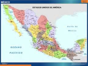 Mexico Wall Map by Our Mexico Wall Maps Wall Maps Mapmakers Offers Poster