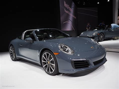 porsche graphite blue 2016 naias porsche 911 targa graphite blue metallic