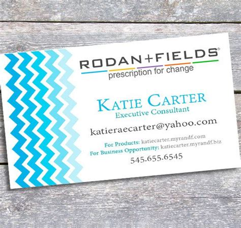 15 Best Rodan And Fields Images On Pinterest Party Invitations Skin Treatments And Skincare Rodan And Fields Business Card Template