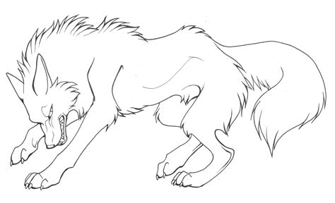 angry wolf coloring page intense canine critique please