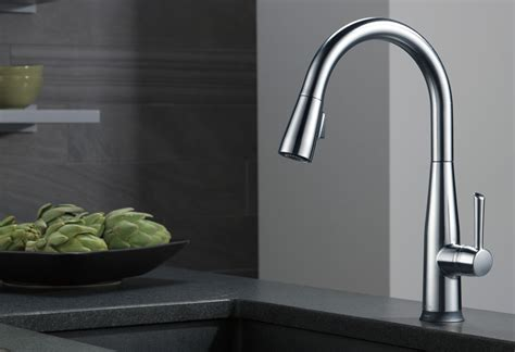 faucets for kitchen sink kitchen faucets fixtures and kitchen accessories delta