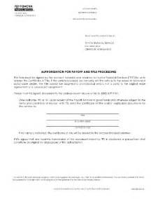 Toyota Lease Payoff Toyota Payoff Form Fill Printable Fillable