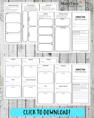 printable nonfiction bookmarks upper elementary snapshots nonfiction text owl pellets
