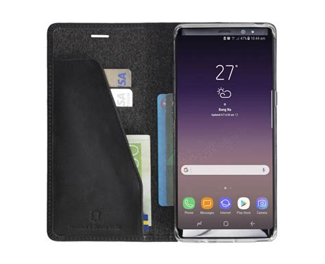 Tunedesign Folioair Galaxy Note 4 Black 1 krusell sunne samsung galaxy note 8 folio wallet black