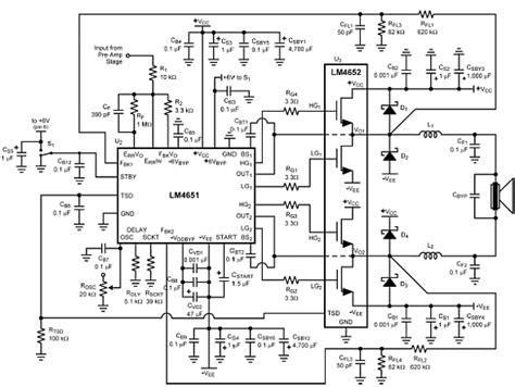 transistor lifier class d 170w audio power lifier class d