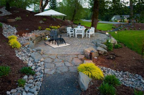 Sloped Backyard Patio Ideas by 49 Backyard Designs Ideas Design Trends Premium Psd