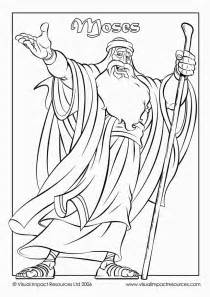 what color was moses moses coloring sheet coloring home