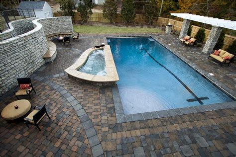 how big is a lap pool pavers landscaping network