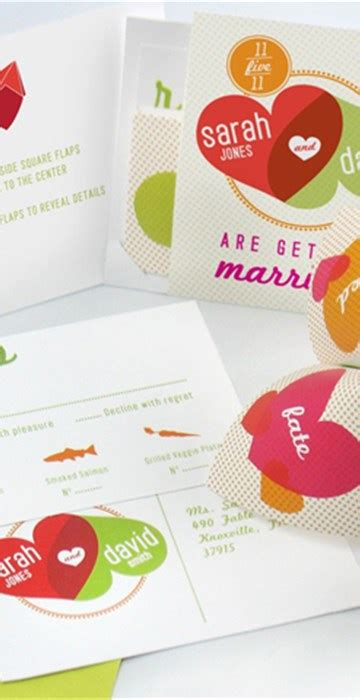 Cool Wedding Invites Paper by 20 Cool Wedding Invitations
