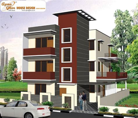 floor plan for modern triplex 3 floor house click on 78 best images about triplex house design on pinterest