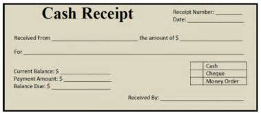 Money Receipt Template by 50 Free Receipt Templates Sales Donation Taxi