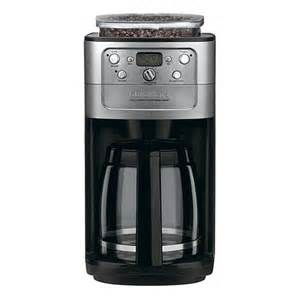 Coffee Grinder And Maker Cuisinart Automatic Grind And Brew 12 Cup Coffee Maker Hsn