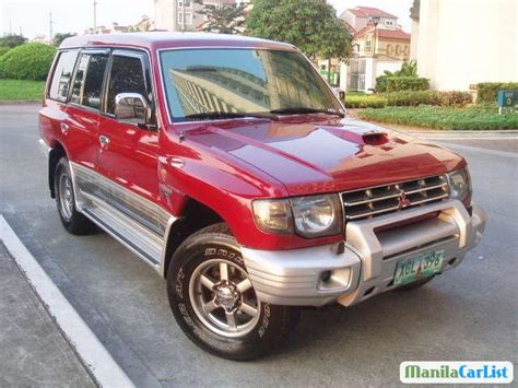 how does cars work 2004 mitsubishi pajero security system mitsubishi pajero automatic 2004 for sale manilacarlist com 409265