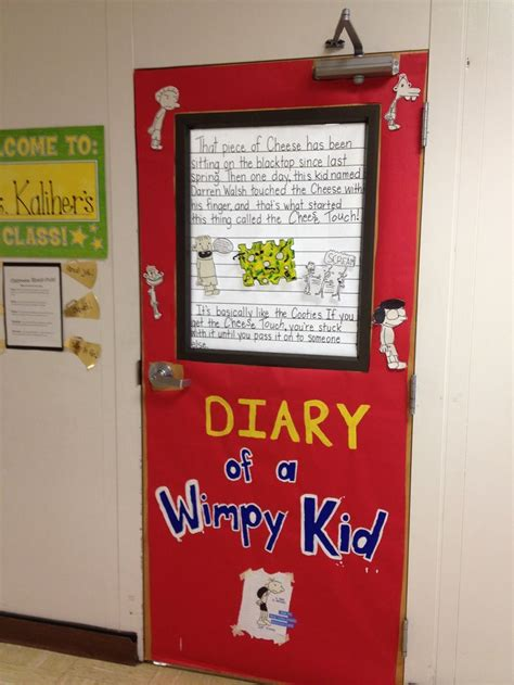 Decoration Ideas For Diary Door Decorating For Quot Celebrate Literacy Week Quot Diary Of A
